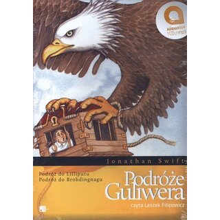 Podróze Guliwera. Ksiazka audio CD MP3